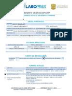 Ficha Oficial Congreso