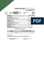 protocolo de pruebas de tablero electrico