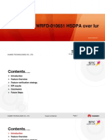 Fni Report Wrfd-010651 Hsdpa Over Iur