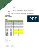 Formulas de Transporte de Sedimentos de Fondo