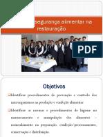 PPT's DA UFCD_7731_Higiene e Segurança Alimentar Na Restauração
