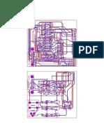 PCB de circuito rediseñado