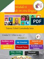 Módulo 6 Inglés /Semana 2