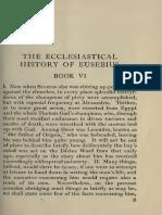 The Ecclesiastical History of Eusebius Vol II