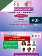 Actividad Socioemocional 11/ Módulo 6