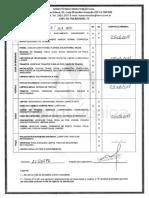 Relatório Elevador Ala 700