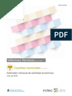 EMAE - informe INDEC Septiembre 2018