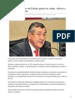 14-09-2018-Reducirá Gobierno Del Estado Gastos en Viajes Viáticos y Nuevos Automóviles - Elsoldehermosillo