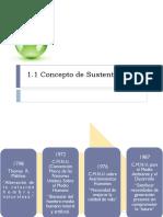 1.1 Concepto de Sustentabilidad Y 1.2 Principios de Sustentabilidad