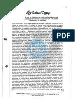 El contrato de asesoría de Alberto Carrasquilla con Saludcoop
