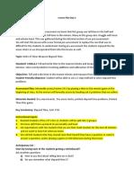PortfolioLesson Plan 3a
