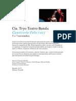 Info Cautiverio Felis