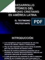 Pentecostalismo en America Latina