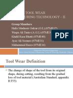 Tool Wear (04-10-10) by Waqas Ali Tunio