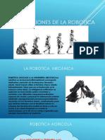 Clasificasiones de La Robotica32