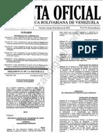 GacetaExtraordinaria6174ReglamentoOrganicoDePlanificacion