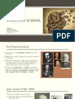 Positivist School Slides