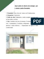 Práctica Individual Sobre El Ahorro de Energía Por El Alumno Aldo Jesús Lastra González