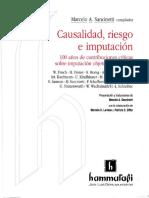 Causalidad Riesgo e Imputacion Sancinetti