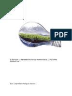 Reto de Implementacion de Transicion de La Reforma Energetica