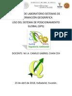 Práctica 5 de Laboratorio Sistemas de Información Geográfica