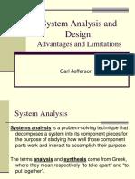 Report on Sytem Analysis