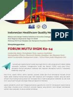 Leaflet Forum Mutu 2018
