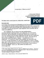 Metacognición y Educación - Colot 2005