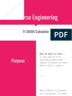 reverse engineering report