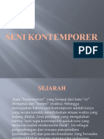 SENI KONTEMPORER