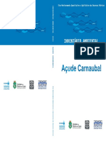 Inventario Ambiental Do Acude Carnaubal 2011