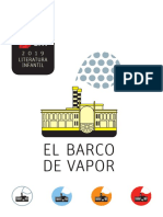 Bases Del Premio El Barco de Vapor 2019
