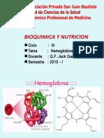 CLASE 09- hemoglobina                 4semana zxxxxxxxx.ppt