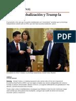 Xi Apoya Globalización y Trump La Rechaza - Grupo Milenio