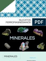 Silicatos Ferromagnesianos