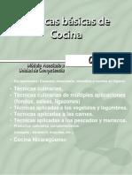 Técnicas Básicas de Cocina - Escuela Nacional de Hotelería - Victor M. Orozco