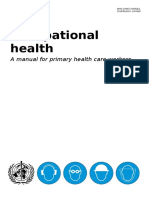 Occupational Health Primary