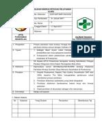 8.7.2 004 EP 1 SPO Penilaian Kinerja Petugas Pemberi Pelayanan Klinis