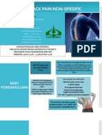 Ppt LOW BACK PAIN NON-SPESIFIC