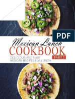 Cookbook - Mexican Lunch Cookbook - BookSumo Press