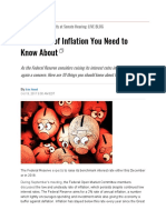 10 effects of Inflation
