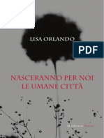 "Lisa Orlando, ""Nasceranno per noi le umane città"", Maldoror Press (2018)"
