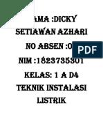 TUGAS 1 MATA KULIAH DASAR INTALASI LISTRIK.docx