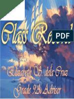 Class Record Cover