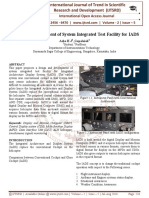 Design and Development of System Integrated Test Facility for IADS