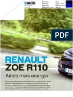 "RENAULT ZOE R110 NA ""BLUE AUTO"""