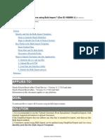 Fusion- Import Customers Using Bulk Import