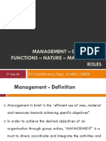 Lecture 3-Management – Definition and Importance