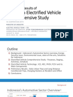 Preliminary Results of Indonesia Electrified Vehicle Comprehensive Study