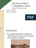 Desarrollo Socio-Cultural durante la República Liberal